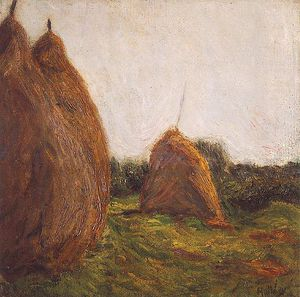 Simon Hollosy - Haystacks
