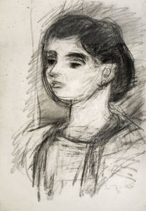 Bela (Adalbert) Czobel - Young Girl