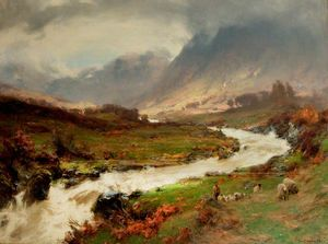 David Farquharson - A Break In The Storm, Glen Lyo..