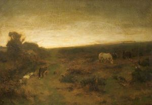 David Farquharson - Early Morning On Beer Common, ..