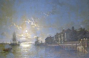 Henry Pether - Off Tilbury, Essex, Shipp..