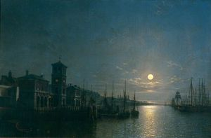 Henry Pether - The Pool Of London, Billi..
