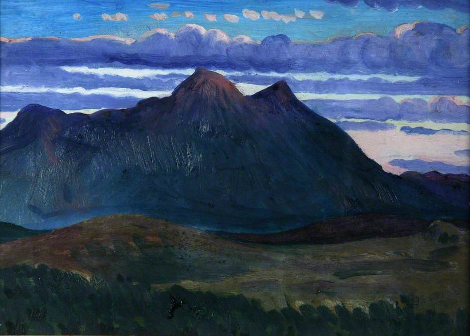 Arenig Mountain by James Dickson Innes (1887-1914, United Kingdom) | Museum Quality Copies James Dickson Innes | ArtsDot.com