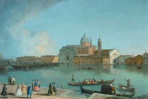 Johann Richter - A View Of The Redentore, Venice