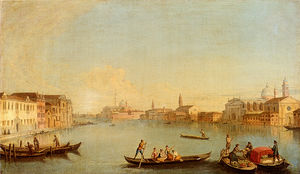 Johann Richter - View Of San Giorgio Maggiore Seen From The South, Venice