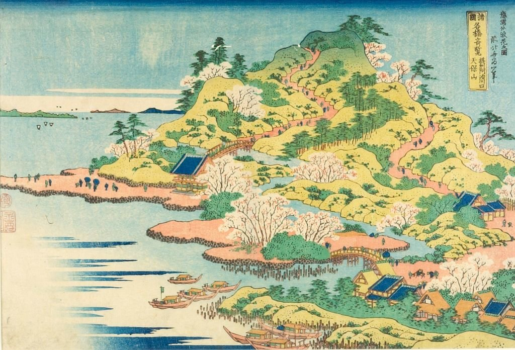Famous Bridges In Varous Provinces by Katsushika Hokusai (1760-1849, Japan) | Art Reproduction | ArtsDot.com