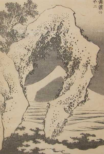 Fuji From The Seashore by Katsushika Hokusai (1760-1849, Japan) | ArtsDot.com