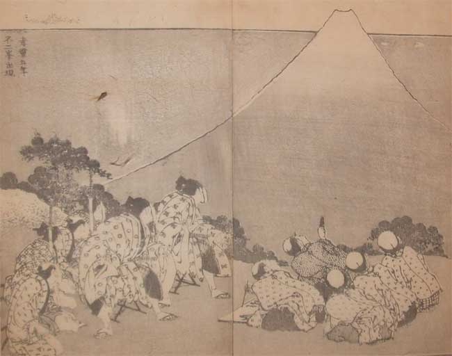 The Appearance Of Fuji In The Fifth Year Of Korei by Katsushika Hokusai (1760-1849, Japan) | ArtsDot.com