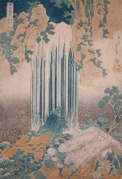 Yoro Waterfall At Mino by Katsushika Hokusai (1760-1849, Japan) | ArtsDot.com