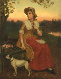 Philip Richard Morris - Lady And A Dog