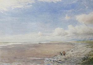 Thomas Collier - Beach Scene At Morfa Bychan
