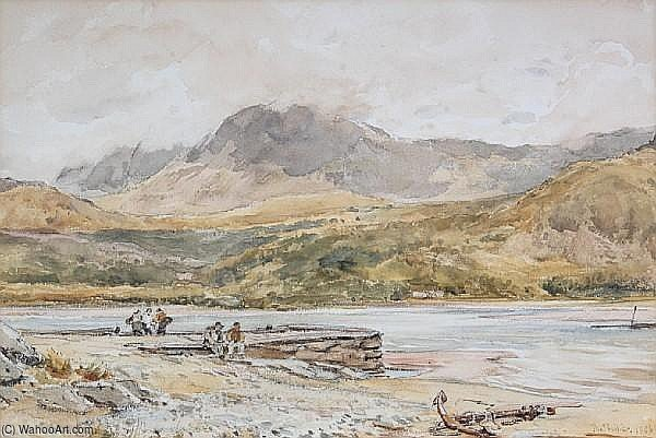 Cader Idris by Thomas Collier (1620-1691, United Kingdom)