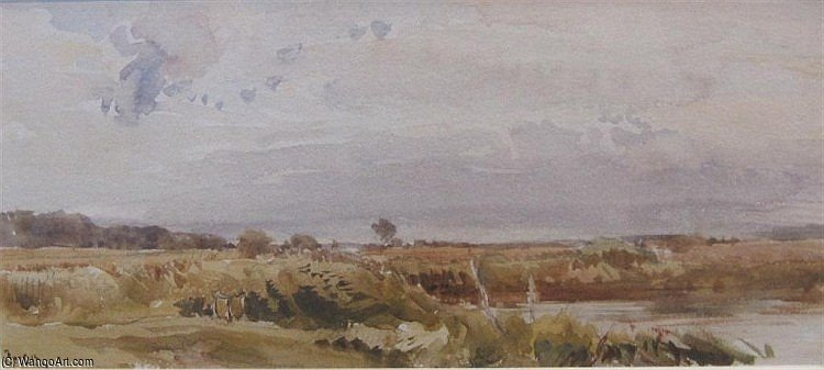 Southwold Common by Thomas Collier (1620-1691, United Kingdom)