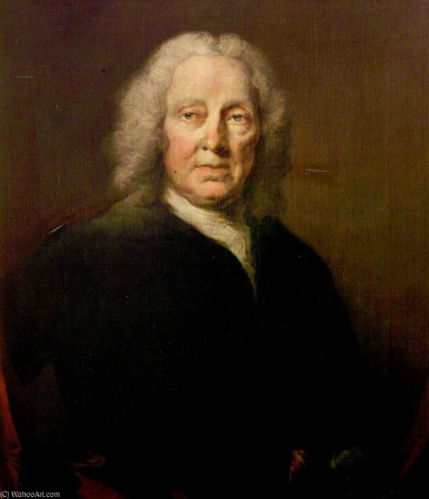 Richard Leveridge by Thomas Frye (1710-1762, Ireland)