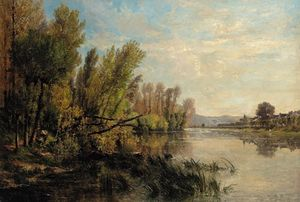 Alexandre Rene Veron - The Meandering River
