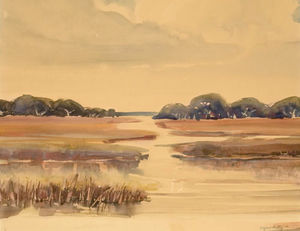 Alfred Heber Hutty - Lowcountry Marsh