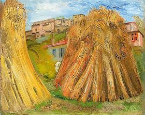 Boris Dmitrievich Grigoriev - Haystacks