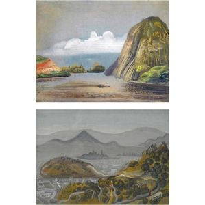Boris Dmitrievich Grigoriev - Two Views Of South America