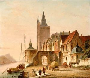Cornelis Christiaan Dommelshui.. - The City Gate