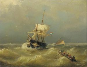 Nicolaas Riegen - Shipping On Choppy Waters