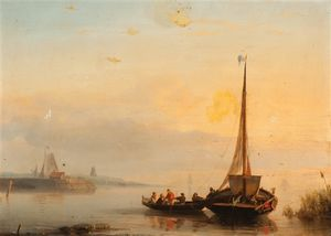 Nicolaas Riegen - The Return Of The Fishing Boat