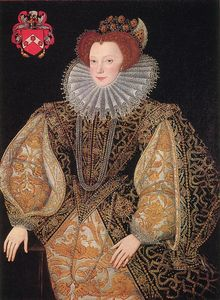 Robert Dudley - Portrait Of Lettice Knollys