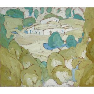 Spyros Papaloukas - Houses In The Hills