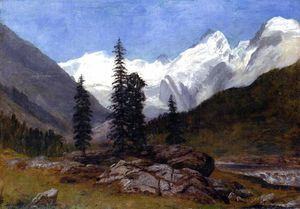 Albert Bierstadt - Rocky Mountain