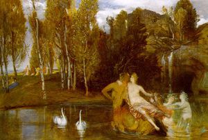 Arnold Bocklin - elysian fields