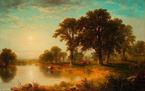 Asher Brown Durand - summer afternoon