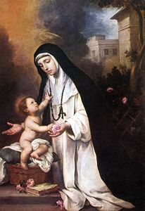 Bartolome Esteban Murillo - St Rose of Lima
