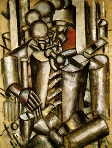 Fernand Leger - Soldier with a pipe - -