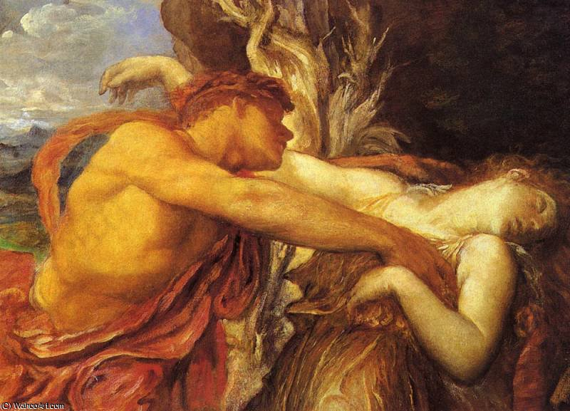 orpheus and eurydice by Frederick Waters Watts (1800-1870, United Kingdom)
