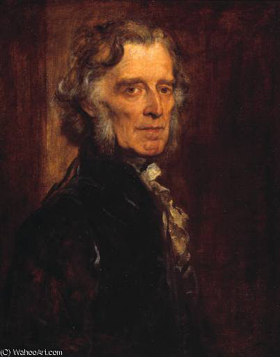 russell gurney, 1878 by Frederick Waters Watts (1800-1870, United Kingdom)