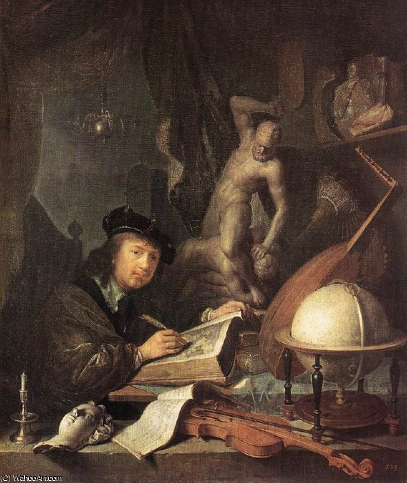 painter by Gerrit Dou (1613-1675, Netherlands)