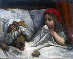 Paul Gustave Doré - Little red riding hood