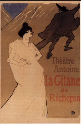 gitane by Henri De Toulouse Lautrec (1864-1901, France)