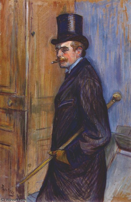 monsieur louis pascal, 1891 by Henri De Toulouse Lautrec (1864-1901, France)