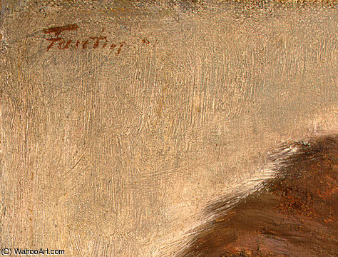 self portrait (detail 1) -, 1861 by Henri Fantin Latour (1836-1904, France)