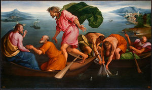 Jacopo Bassano (Jacopo Da.. - The Miraculous Draught of..