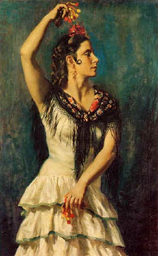 castanuelas by Jorge Apperley (George Owen Wynne Apperley) (1884-1960, United Kingdom)