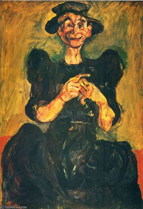 untitled (3714) by Chaim Soutine (1893-1943, Russia) | Art Reproductions Chaim Soutine | ArtsDot.com