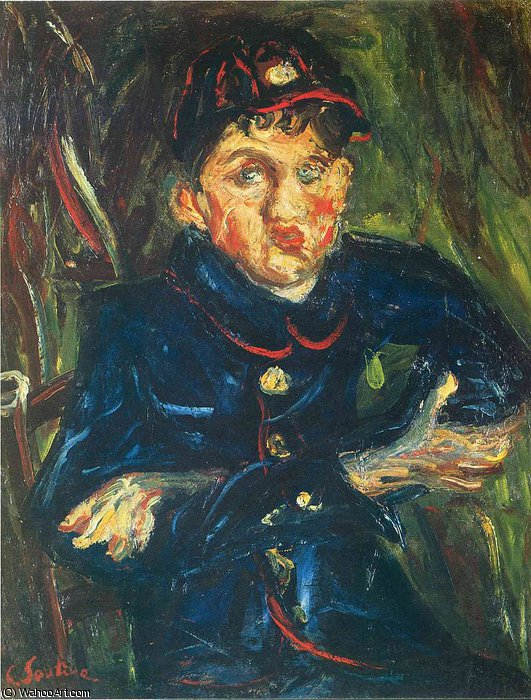 untitled (3796) by Chaim Soutine (1893-1943, Russia) | Paintings Reproductions Chaim Soutine | ArtsDot.com