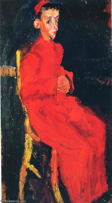 untitled (80) by Chaim Soutine (1893-1943, Russia) | Reproductions Chaim Soutine | ArtsDot.com