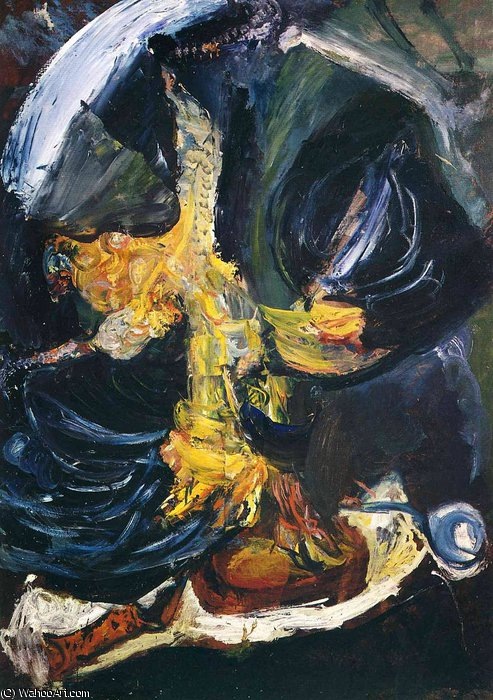 untitled (1362) by Chaim Soutine (1893-1943, Russia) | Reproductions Chaim Soutine | ArtsDot.com