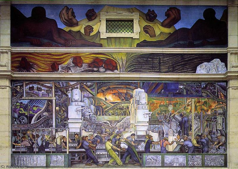 untitled (6673) by Diego Rivera (1886-1957, Mexico)