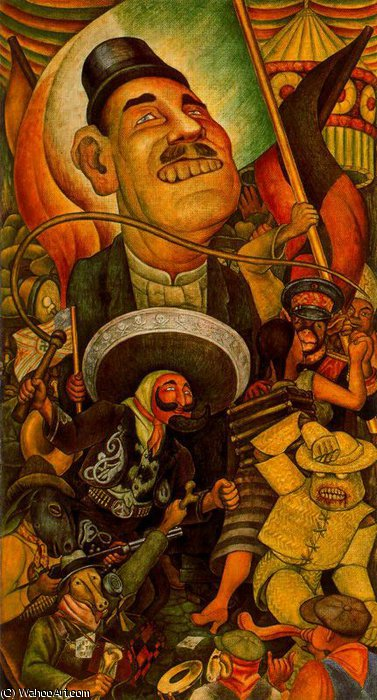 untitled (2179) by Diego Rivera (1886-1957, Mexico)