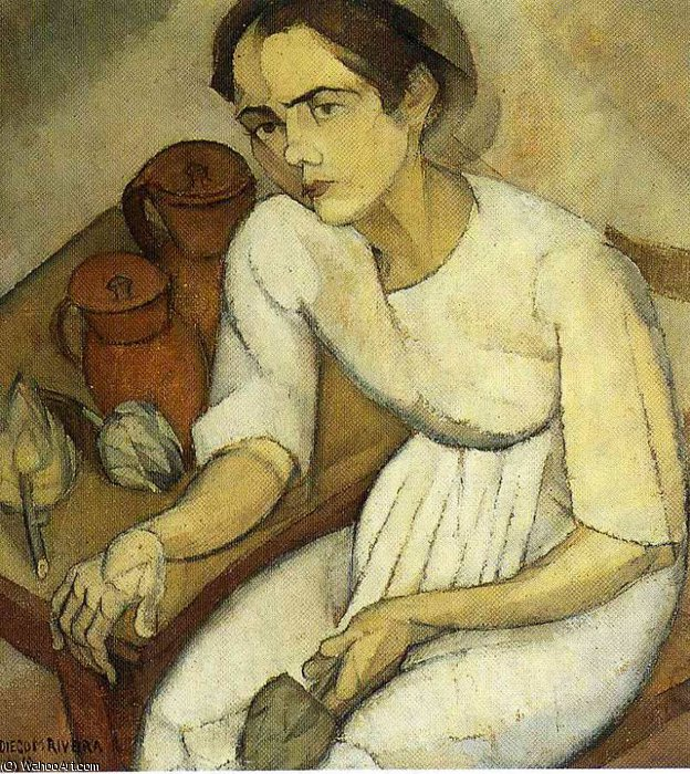 untitled (246) by Diego Rivera (1886-1957, Mexico)
