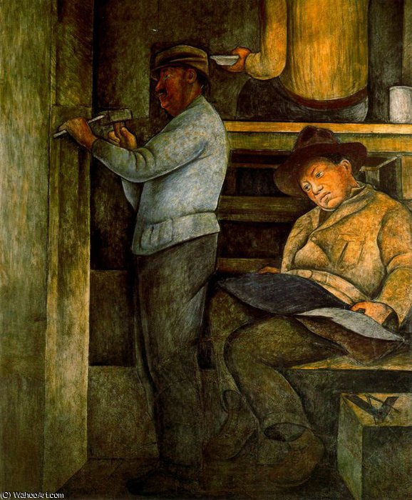 untitled (9933) by Diego Rivera (1886-1957, Mexico)