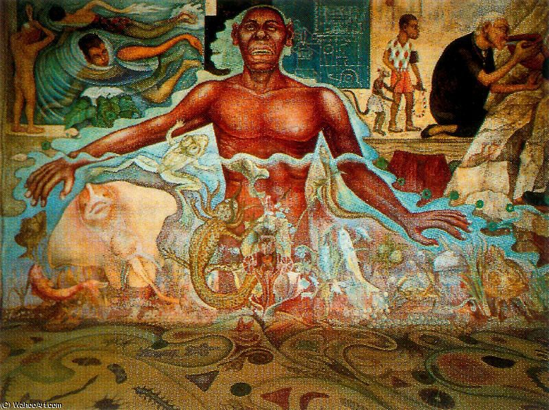 untitled (2648) by Diego Rivera (1886-1957, Mexico)